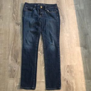 American Eagle Stretch Skinny Jeans. Size 6 long